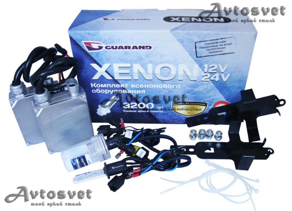 Комплект ксенона фирмы Guarand24v conbas с обманкой бортового компьютера