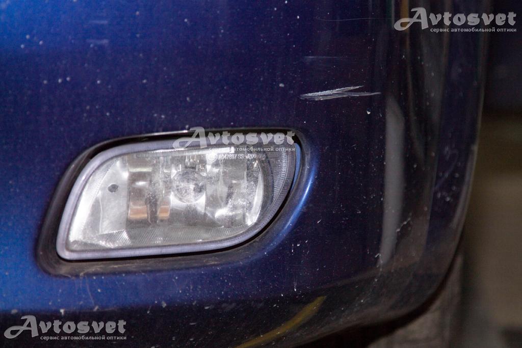 Chevrolet Lacetti Hatchback побитые временем противотуманные фары