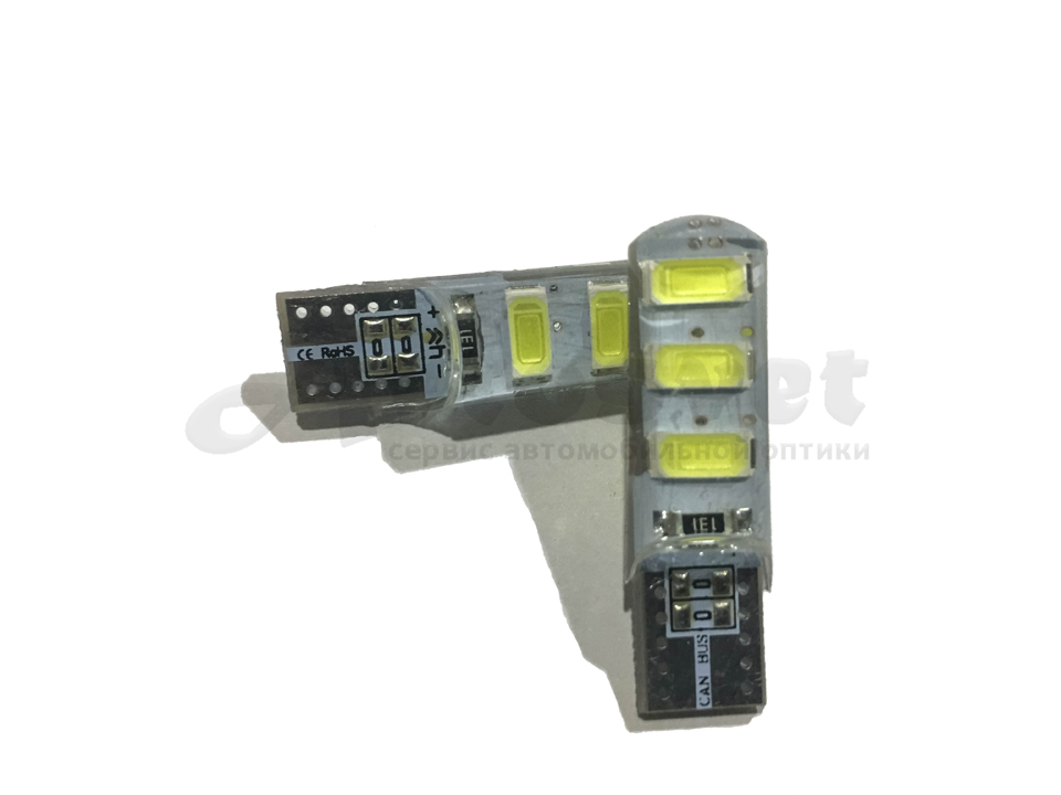 T10 W5W 6 SMD Led Canbas